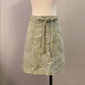 Anthropologie/Pilcro/Size 0 Utility Skirt